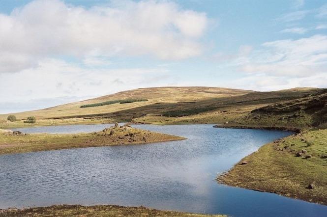 Danau loughareema irlandia