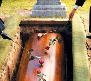 Kecanduan pemakaman