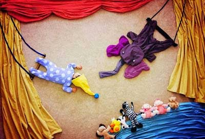kreatifitas bayi tidur3