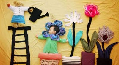 kreatifitas bayi tidur6