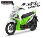 Modifikasi Honda Beat Fi  Click Hijau