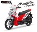 Modifikasi Honda Beat Fi  Click Merah
