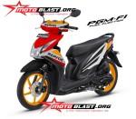 Modifikasi Honda Beat Fi Repsol