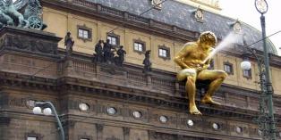 Patung Ejakulasi Praha