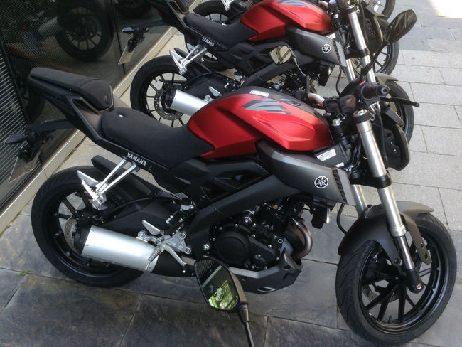 Peluncuran Yamaha Mt125