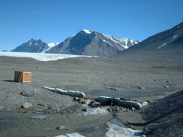the dry valley antartika
