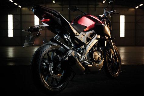 Yamaha Mt125 di barcelona
