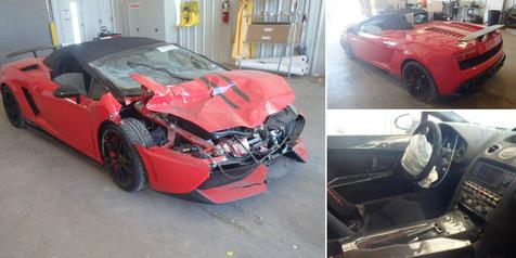 Dujual murah Mobil Lamborghini Gallardio