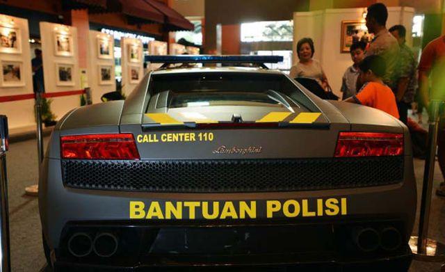 lamborghini_polri-Polisi Indonesia