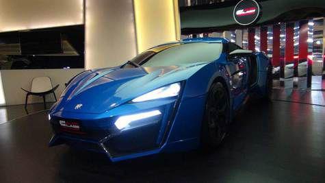 Lykan Hypersport Mobil Mewah Arab 1