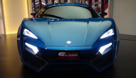 Lykan HypersportMobil Mewah Arab 2