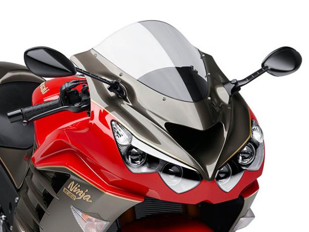 Motor spesial Kawasaki ultah ke 30th 1