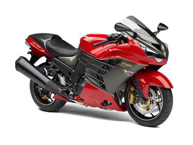 Motor spesial Kawasaki ultah ke 30th
