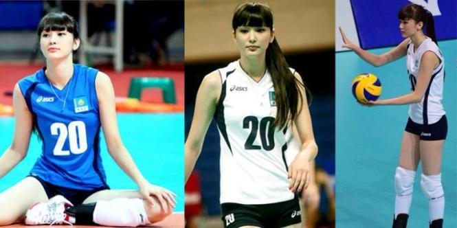 sabina atlet voli dari kazakhstan
