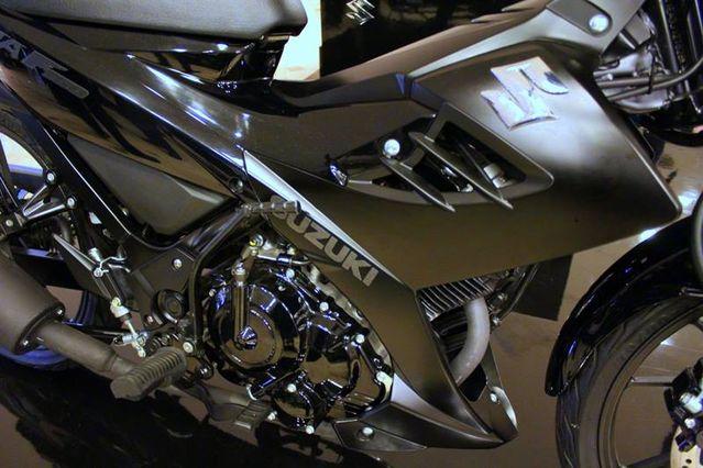 Satria Black Predator mesin