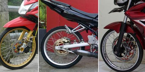 Sepeda motor ban kecil dilarang