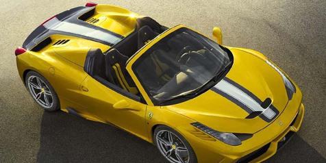 Ferrari 458 Special Aperta Limited Edition