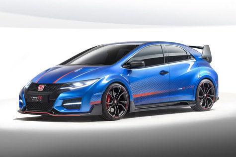 Honda civic type R depan
