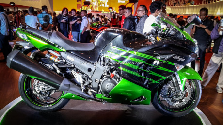 Kawasaki di IMOS 2014 1