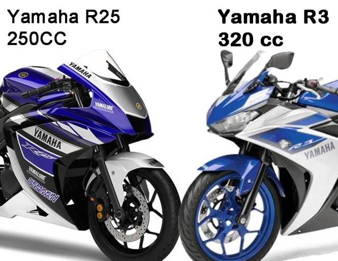 Yamaha R25 vs R3
