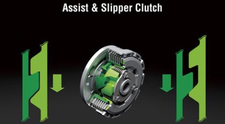New Kawasaki 250 FI Terbaru assist dan Slipper Clutch