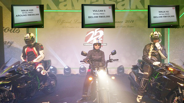 Peluncuran Kawasaki Ninja H2R dan H2