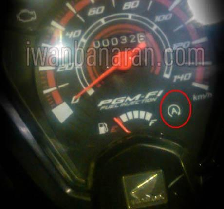 spedometer Honda Beat 2015