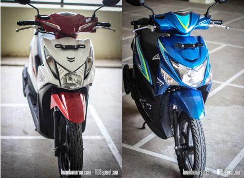 Perbedaan Honda Beat Pop ESP dan Beat ESP