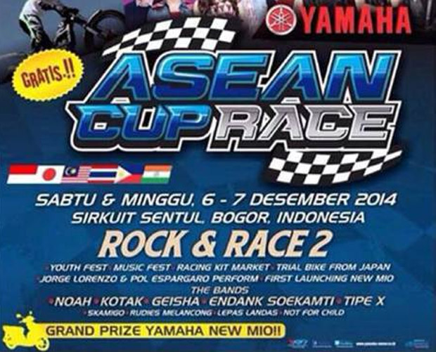 Yamaha Asean Cup Race 2014 Ke 11