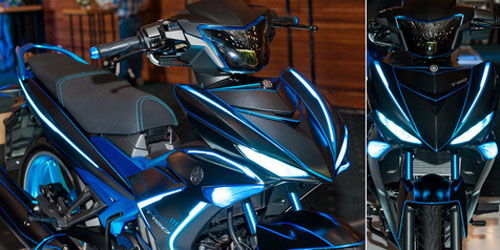 Yamaha MX KIng 150 glow in the Dark