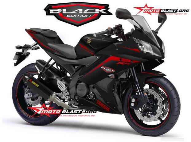 modif striping yamaha R15 Balck Edition Motoblast 1