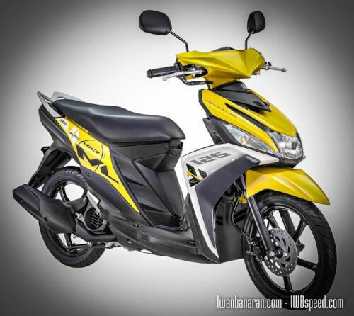 Yamaha Blue core M3 125 Kuning