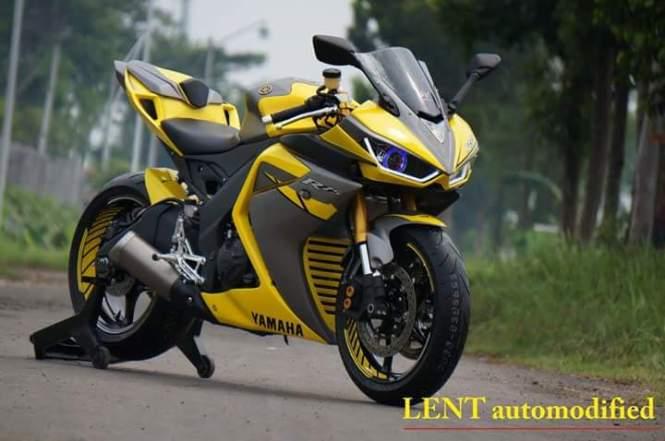 Modifikasi Yamaha R25 Lent automodified asal probolinggo